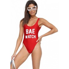 BAE WATCH Monokini rot