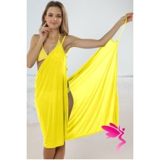 Beachdress gelb