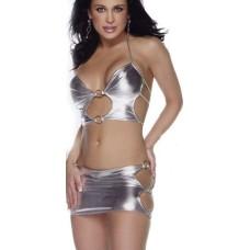 Dancewear Set silber