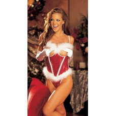 Ouvert Santa Kostüm
