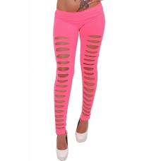 Cut Out Leggings pink