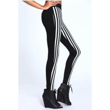 Streifen Leggings